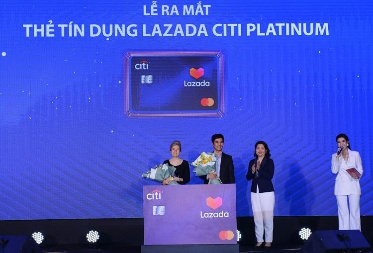 Citibank hợp tác Lazada ra mắt thẻ tín dụng - ảnh 1