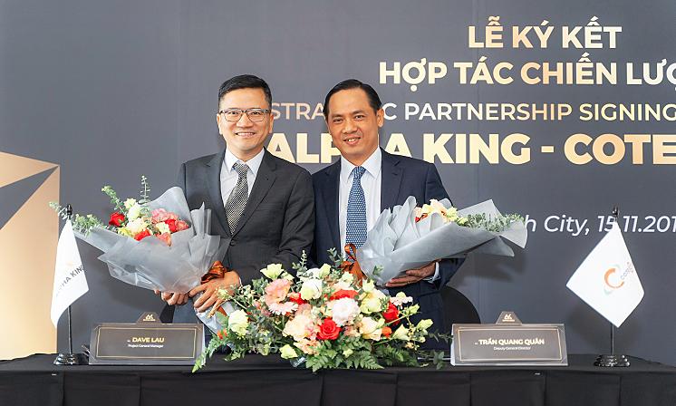 Alpha King và Coteccons ký kết hợp tác chiến lược