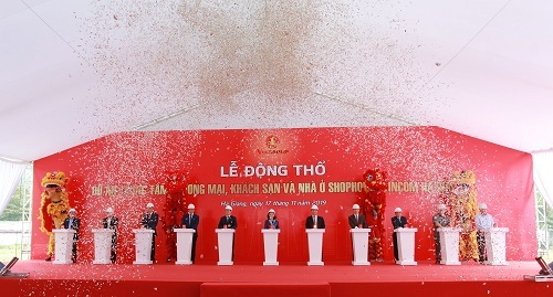 Vingroup động thổ khu trung tâm thương mại Vincom Hà Giang - ảnh 1