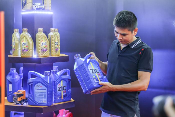 nhãn hàng dầu nhớt ZIC được Công ty CP Thương mại Và Dịch vụ Katsuma phân phối