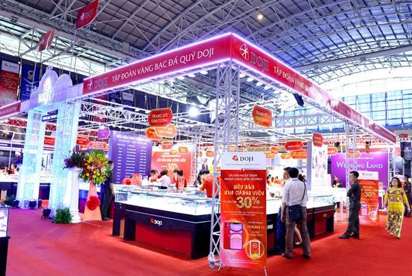 Lợi thế của DOJI tại hội chợ quốc tế trang sức - ảnh 1