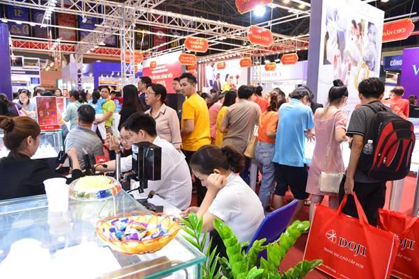 Lợi thế của DOJI tại hội chợ quốc tế trang sức - ảnh 2