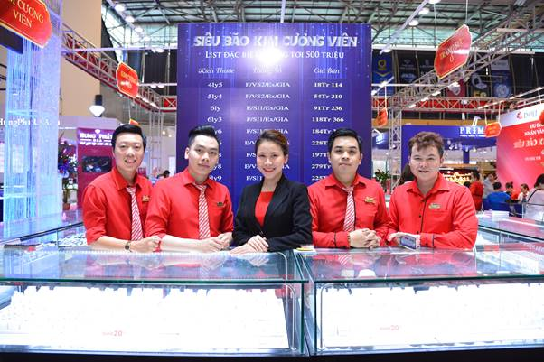 Lợi thế của DOJI tại hội chợ quốc tế trang sức - ảnh 3