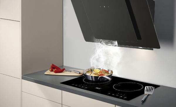 Máy hút mùi với công suất lớn không gây tiếng ồn, không để lại mùi thức ăn.