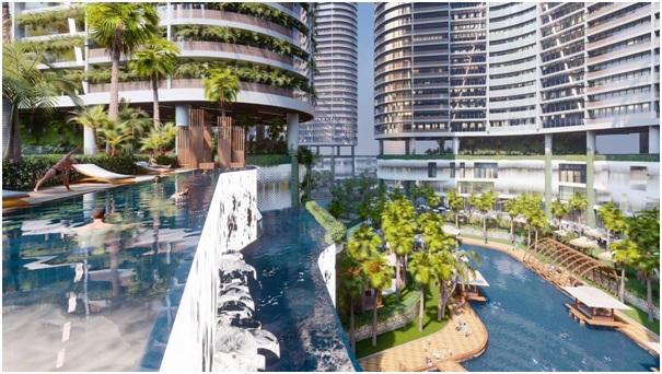 Tiện ích giải trí và ẩm thực 10.000 m2 tại khu căn hộ quận 7 - ảnh 2