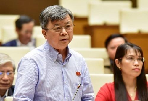 Ông Trương Trọng Nghĩa - đoàn đại biểu TP HCM. Ảnh: Trung tâm báo chí Quốc hội