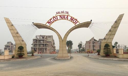 Dự án Ngôi Nhà Mới của Tập đoàn Lã Vọng tại Quốc Oai, Hà Nội. Ảnh: AT