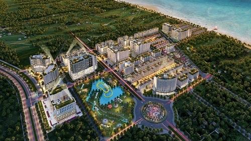 Hình ảnh phối cảnh dự án Sim Island tại Bãi Trường, Phú Quốc.  - fsafas-6942-1574655567 - Nhà phố thương mại 'ba trong một' của Sim Island Phú Quốc