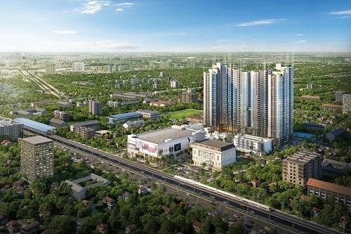 Dự án Mipec Rubik360 sắp ra mắt tại 122 - 124 Xuân Thủy, Cầu Giấy, Hà Nội.