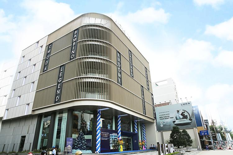 Flagship Store mới nhất của Liên Á tại quận 7, TP HCM.