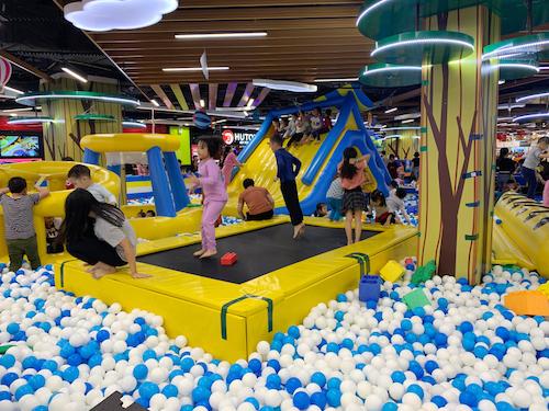 Khu vui chơi trẻ em Sunshine City Sài Gòn