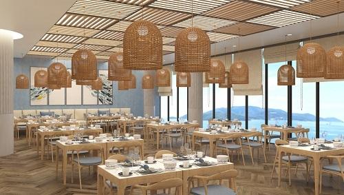 Nhà hàng bên trong dự án.