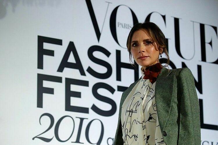 Victoria Beckham tại Tuần lễ Thời trang Vogue năm nay. Ảnh: Reuters