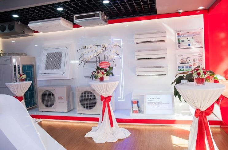 Các sản phẩm được phân phối tại Showroom Fujitsu Conditioning Solution Center.