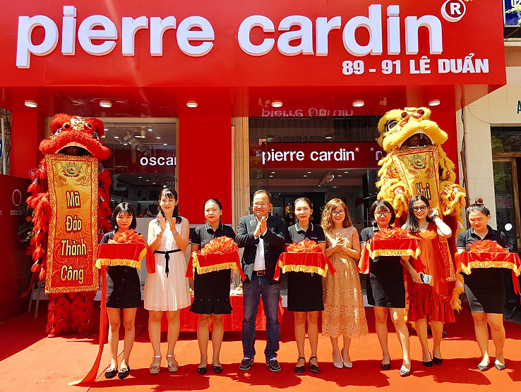 Pierre Cardin Shoes khai trương 5 showroom mới