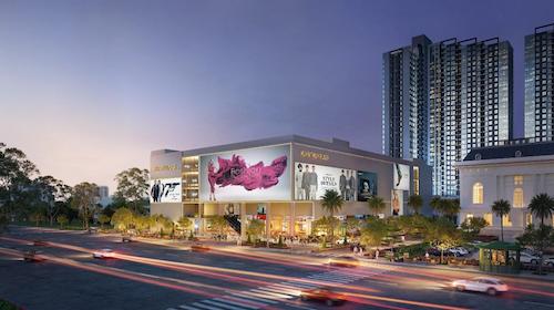 Mipec Rubik360 nổi bật với trung tâm thương mại, tổ chức sự kiện và tiệc cưới nội khu.