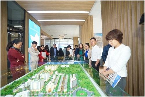 Văn phòng kinh doanh của Sim Island trưng bày các sản phẩm trong dự án của đơn vị.  Sim Island khai trương văn phòng trưng bày tại Hà Nội 3 1227 1575260358