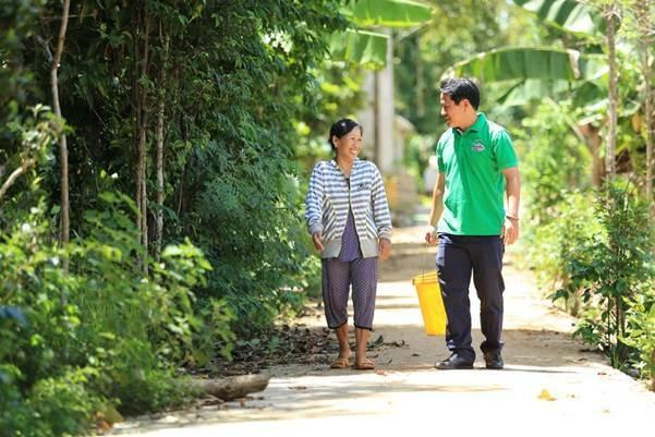 Chương trình CSR dài hạn của Huda góp phần giảm bớt gánh nặng về tình trạng thiếu hụt nước sạch cho bà con miền Trung.