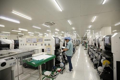 Nhà máy của công ty Manutronics Việt Nam.