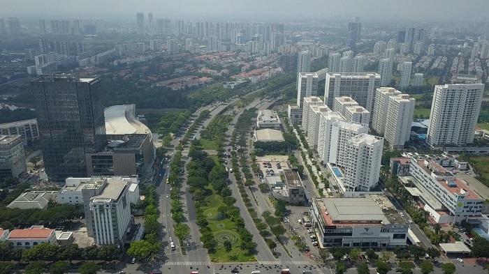 Đô thị Nam Sài Gòn tăng tốc phát triển - ảnh 1