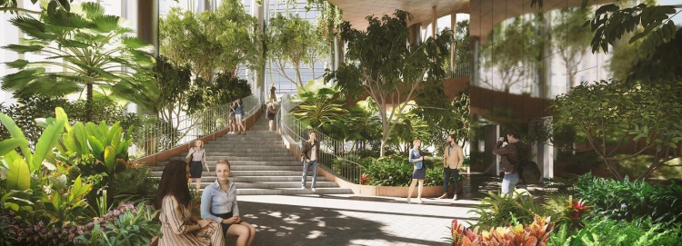 Dự án căn hộ quận 7 ứng dụng kiến trúc phủ kính chạm trần - ảnh 7