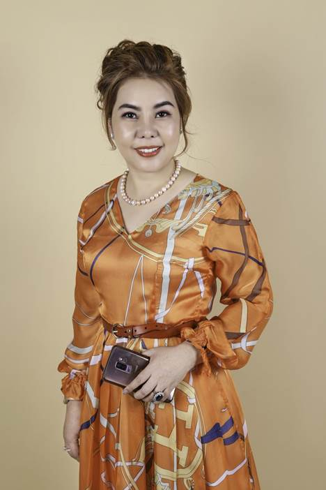 Bà Lương Thanh Thúy - Tổng giám đốc Lương Gia..