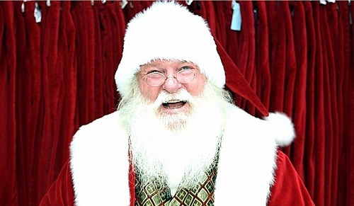 Ông già Noel cháy sô ở Mỹ - ảnh 1