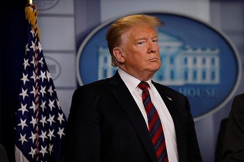 Tổng thống Mỹ Donald Trump trong một cuộc họp báo tại Nhà Trắng vào tháng 1/2019. Ảnh: Reuters