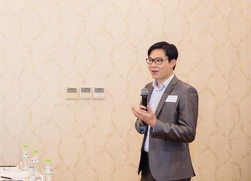 Chuyên gia Nguyễn Đức Khương phát biểu tại một sự kiện. Ảnh: AVSE Global.