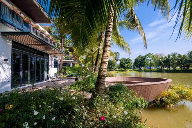 Không gian sống xanh cho người giàu tại biệt thự đảo Ecopark - ảnh 3