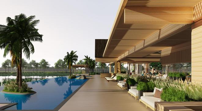 Không gian sống xanh cho người giàu tại biệt thự đảo Ecopark - ảnh 4