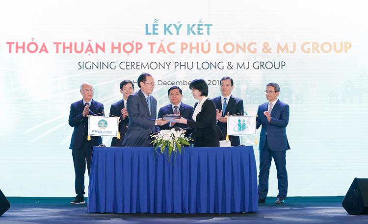 Phú Long và MJ Group hợp tác chiến lược chăm sóc sức khoẻ, làm đẹp - ảnh 1