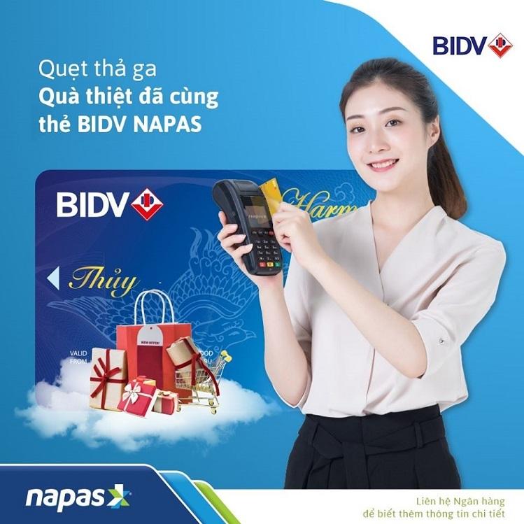 BIDV hoàn tiền cho thẻ ghi nợ nội địa - ảnh 1