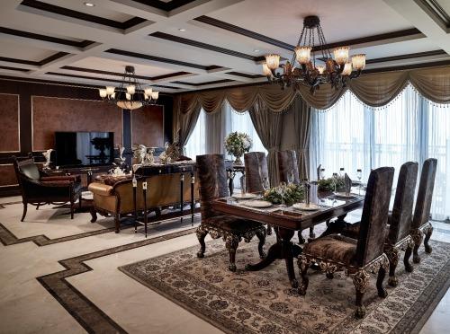 Bên trong căn hộ có giá cả triệu USDtại dự án siêu sang tại quận Cầu Giấy, Hà Nội. Ảnh: Tập đoàn Tân Hoàng Minh