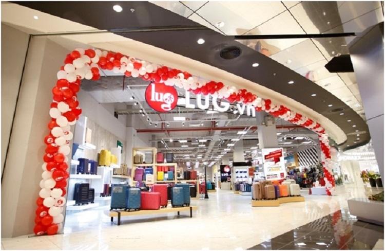 LUG Mega Store có diện tích 789 m2 tại Aeon Hà Đông.