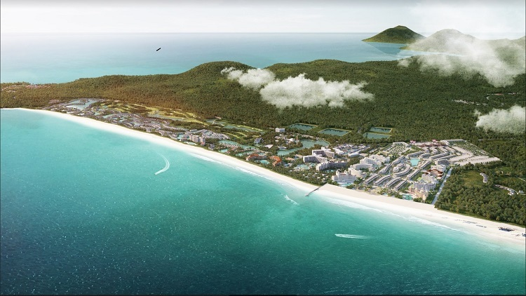 Vinpearl Grand World Condotel nằm trong quần thể Grand World, tọa lạc tại bãi Dài - một trong những bãi biển đẹp nhất hành tinh.  - Anh-1-1-8783-1576149191 - New Vision ra mắt 921 căn hộ khách sạn nghỉ dưỡng tại Phú Quốc