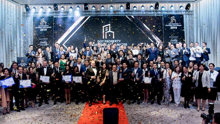 Doanh nghiệp Việt chiếm ưu thế tại lễ trao giải Dot Property Đông Nam Á - ảnh 1