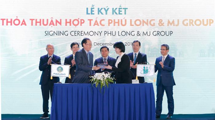 Lễ ký kết hợp tác giữa Phú Long và tập đoàn MJ.  Xuất hiện quần thể nghỉ dưỡng đa năng tại Phú Quốc HInh 1 Phu Long ky hop tac voi 7512 1911 1576484580
