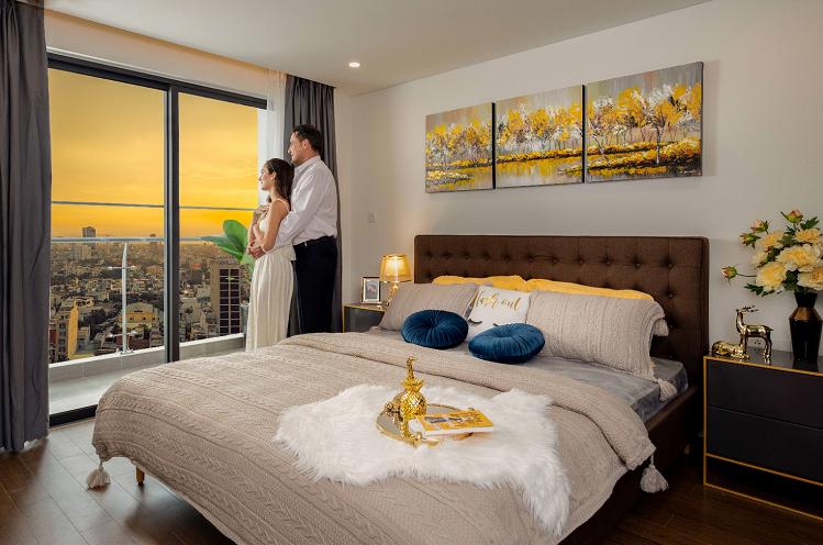Căn hộ Premier Sky Residences được chú trọng trong từng góc nhỏ, từng chi tiết đều được chủ đầu tư chăm chút từ khâu thiết kế và lựa chọn chất liệu, màu sắc để tạo nên sự cân bằng phong thủy, giúp đón lộc, đẩy hung, mang đến cảm giác bình yên và thư thái cho gia chủ.  Thiết kế nội thất bên trong căn hộ mặt tiền biển Đà Nẵng 5 2 8075 1576639997