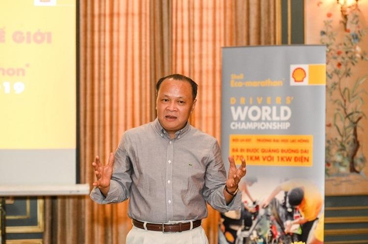 Ông Trần Hồng Vân, Tổng giám đốc Shell Việt Nam.