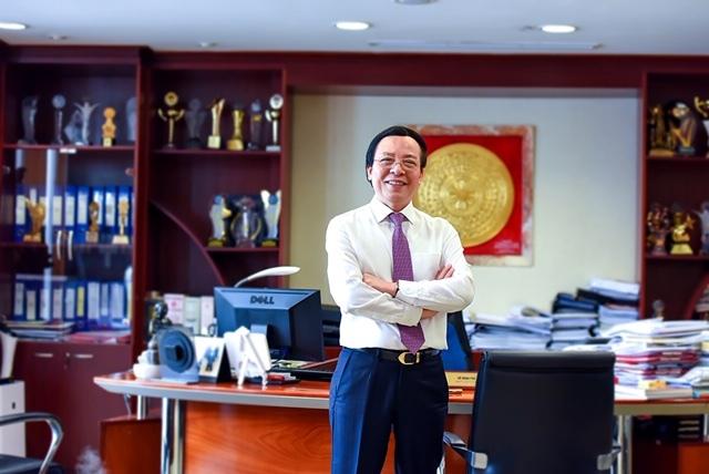 Ông Đỗ Minh Phú - Chủ tịch Hội đồng sáng lập Tập đoàn vàng bạc đá quý DOJI.