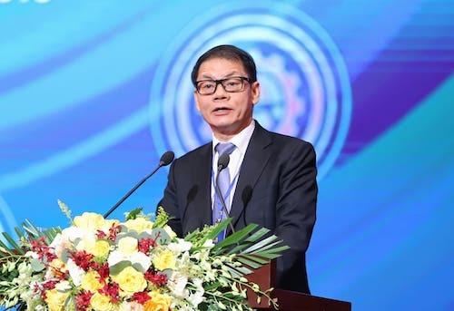 Ông Trần Bá Dương - Chủ tịch ty cổ phần Ôtô Trường Hải. Ảnh: Bảo Nguyễn