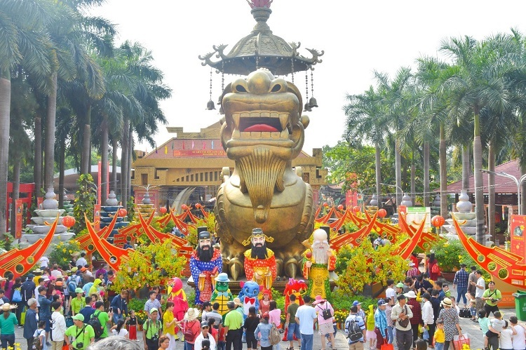 Khu du lịch Suối Tiên muốn mang đến kỳ nghỉ cuối năm nhiều niềm vui cho du khách.