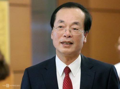 Ông Phạm Hồng Hà - Bộ trưởng Xây dựng. Ảnh: Võ Hải