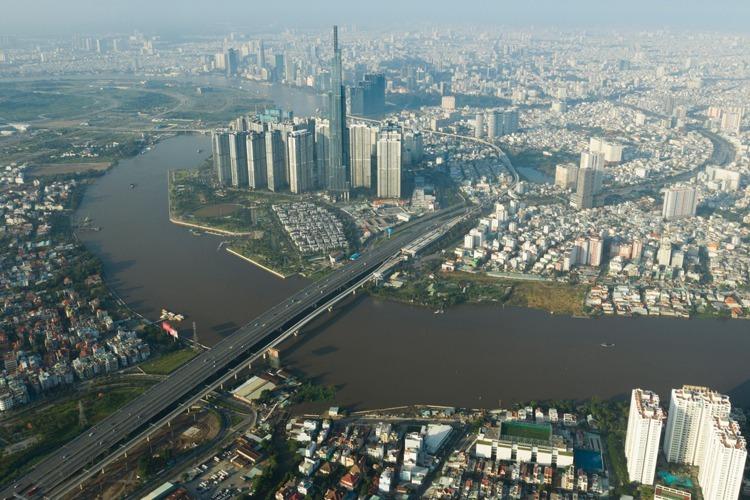 Thị trường bất động sản Sài Gòn. Ảnh: Trần Quỳnh