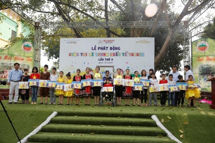 Toyota Việt Nam phát động cuộc thi vẽ cho trẻ em