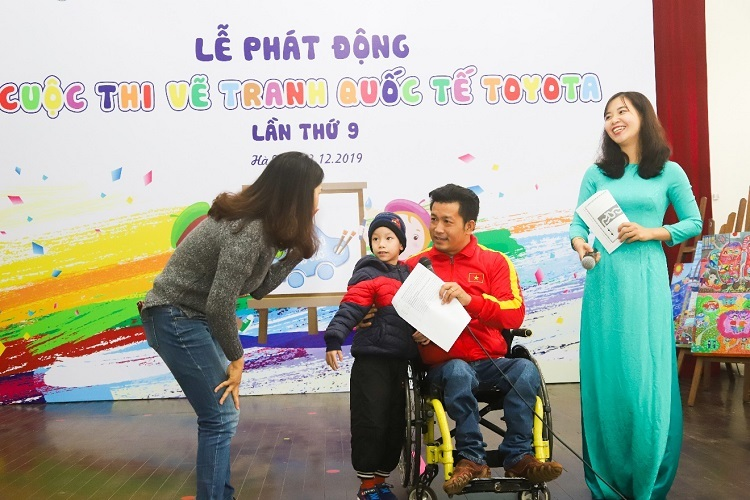 Toyota Việt Nam phát động cuộc thi vẽ cho trẻ em - 1