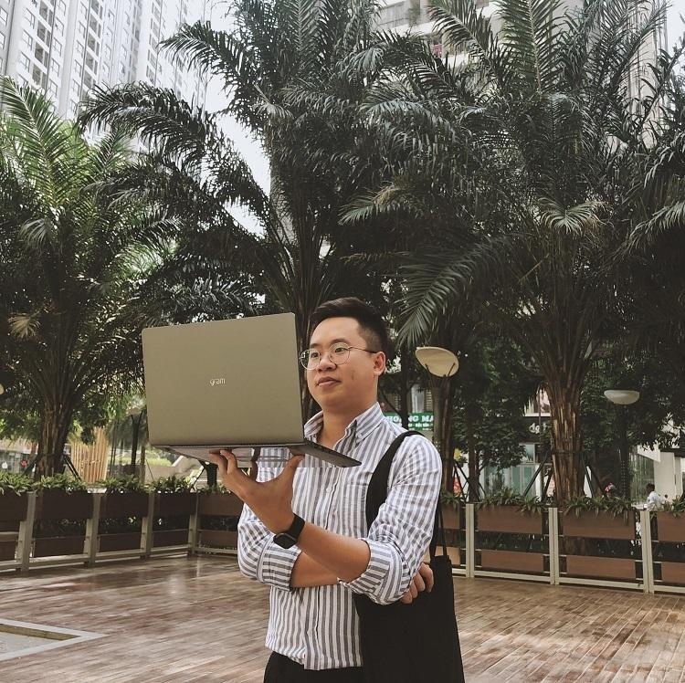Linh Nguyễn trải qua nhiều công việc với