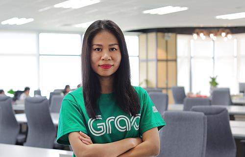 Tân Giám đốc điều hành của Grab tại Việt Nam Nguyễn Thái Hải Vân. Ảnh: Grab