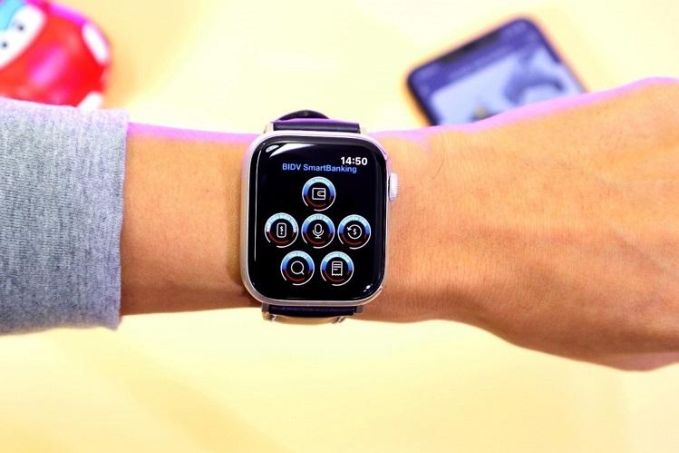 BIDV tích hợp ứng dụng ngân hàng trên đồng hồ thông minh - ảnh 2